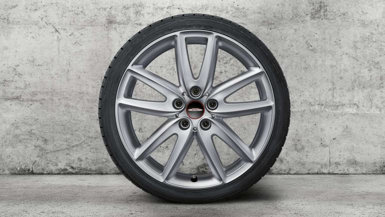 "18"" JCW wheels - grip spoke - silver"